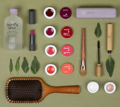 Eco-friendly beauty products for DailyCandy. Photography & Styling by janelle JOnes and Audria Brumberg