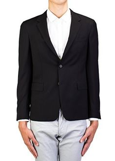 "Men's Prada sport blazer to add a modern and luxurious look yet maintain a touch of classic.   	 		 			 				 					Famous Words of Inspiration...""If we do not plant knowledge when young, it will give us no shade when we are old.""					 				 				 					Lord Chesterfield 						—...  More details at https://jackets-lovers.bestselleroutlets.com/mens-jackets-coats/wool-blends-mens-jackets-coats/product-review-for-prada-mens-notched-lapel-cotton-viscose-sport-ja"