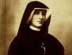 St. Faustina Kowalska ... http://corjesusacratissimum.org/2013/11/on-purgatory-hungry-souls-by-g-j-m-van-den-aardweg-review/