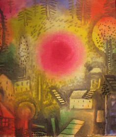 Paul Klee ~ Sommerlandschaft, 1924
