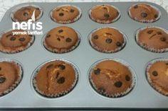 Tam Ölçülü Muffin (Çikolata Ve Vişneli ) Tarifi