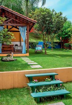Pergola Ideas For Patio Rustic Pergola, Pergola Patio, Backyard Patio, Gazebo, Pergola Ideas, Outdoor Spaces, Outdoor Living, Outdoor Decor, Garden Design