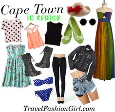 What to Wear in Cape Town in Spring Cape Town Weather in Spring: In Cape Town Spring is famous for its flower season, as everything is in bloom, creating an enchanted look within the city. The average maximum temperature is around 21°C / 70 F and has an average minimum temperature of 11°C / 52 F.