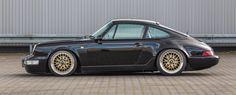 Black Beauty: Porsche 964 mit Gewindefahrwerk und BBS-Felgen dezent veredelt - Auto der Woche - VAU-MAX - Das kostenlose Performance-Magazin
