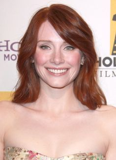 Bryce Dallas Howards gorgeous, red hairstyle