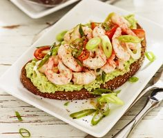Open Faced Sandwich, Rice Ingredients, Bakery Cafe, Mindful Eating, Salmon Burgers, Seafood Recipes, Finger Foods, Love Food, Food Porn