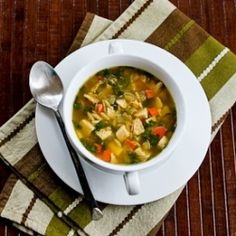 Turkey Spinach and Orzo Soup Recipe