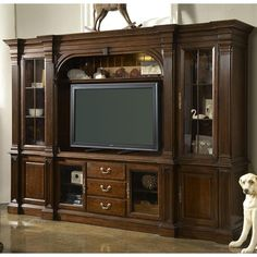 1000 Images About Entertainment Wall Unit On Pinterest