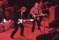 Tom Petty and The Heartbreakers joined by Carl Perkins onstage  1997
