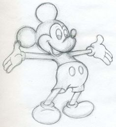 Mickey Mouse zeichnen - Anleitung-dekoking-com-1