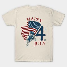 The perfect fabric for a graphic tee and the softest in the business. Happy Independence Day, 4th Of July, Graphic Tees, Shirt Designs, Classic T Shirts, Fabric, Teeth, Cotton, Mens Tops