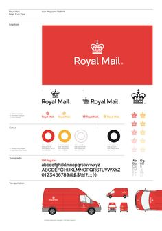 Royal Mail Rethink for ICON magazine by Mash Creative, via Behance