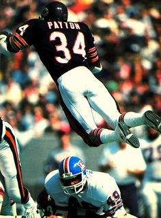 "Walter Payton aka ""Sweetness"" the greatest RB of all time!"