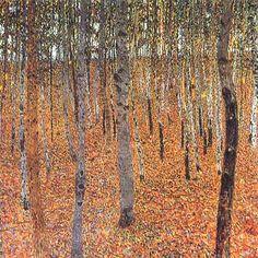 """""""Il Faggeto"""", Gustav Klimt, 1903, olio su tela"""