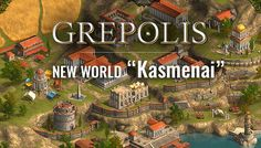 """A good opportunity to start fresh at a brand new Grepolis world """"Kasmenai"""". There hasn't been a new server for a while so grab this chance and gain your positions in the leaderboard before it's..."""