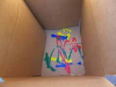 paint in a box