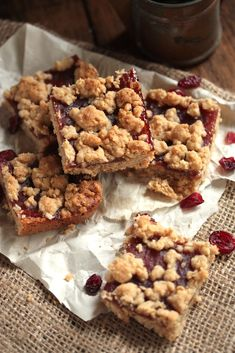 Gluten Free Cranberry Orange Almond Bars with Whole Foods 365 Organic Cranberry Sauce - Country Cleaver