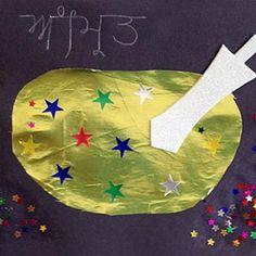 Vaisakhi card - Amrit Bata, perfect activity for explaining how Amrit is made.
