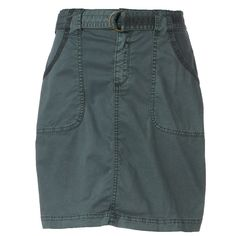 Women's SONOMA Goods for Life™ Twill Utility Skirt, Size: 10, Grey