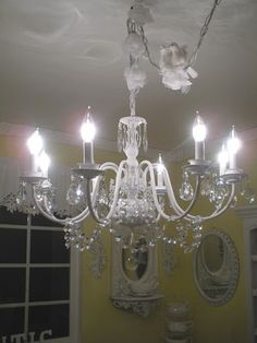 Frugal Home Design: Gorgeous DIY and Refurbished Chandeliers