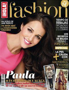 ¡HOLA! Fashion (Enero 2014) En portada: Paula Echevarría #holafashion #covers #fashioncovers #magazines #fashionmagazines