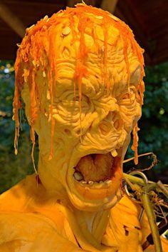 Cool Pumpkin Carving Ideas 2013 : Theme Zombie