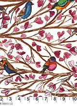 Wouldn't these birds make beautiful centers for wonky log cabin blocks!  And you could do almost anything colorwise around them, they are just gorgeous!    Alewives Fabrics: Fabrics