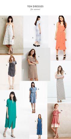 10 dresses for summer