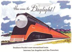 Southern Pacific Coast Daylight - Service