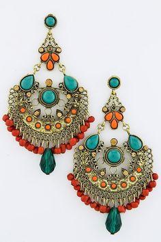 Boho Chandelier Earrings <3