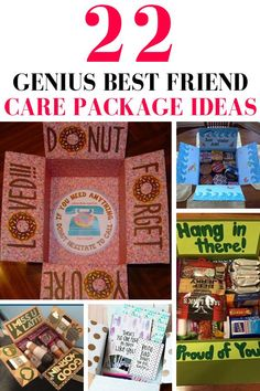 √ College Care Package Ideas for Best Friend. 9 College Care Package Ideas for Best Friend. 22 Genius Friend Care Package Ideas Guaranteed to Make them Birthday Presents For Best Friend, Friend Birthday, Best Friend Gifts, Gifts For Friends, Gifts For Him, Friends Day, Best Friends, Sophia Lee, Birthday Diy