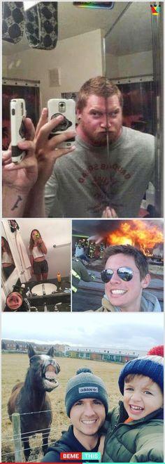 Hilarious Selfies Of All Time Funny Fails, Funny Jokes, Hilarious, Super Funny, Funny Cute, Jokes Pics, Funny Bunnies, Selfies, Comic Sans