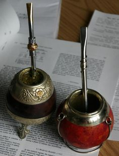 The herbal infusion yerba mate is caffeinated + incredibly popular today in South America and, surprisingly, Syria. Gaucho, Yerba Mate Tea, Elixir Of Life, Tea Ceremony, Energy Drinks, South America, Latin America, Wabi Sabi, Tea Party