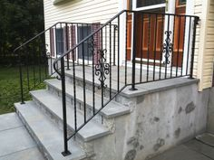 Decorative Wrought Iron Railings