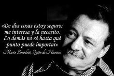 Taringa! 52 Frases de Mario Benedetti, Hazle el amor, Hazte el amor.