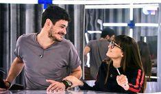 Miradas que lo dicen todo✨ #AITEDA Che Guevara, Polo, Hair Styles, Mens Tops, Tv, Drawings, Fashion, Frases, Couples