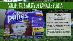 Sorteo de 3 packs de pañales PUFIES, una marca de pañales recién llegada a España, que aúna calidad y diseño. ¡Participa!