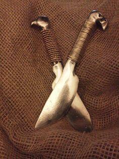 RailRoad Spike Knifes