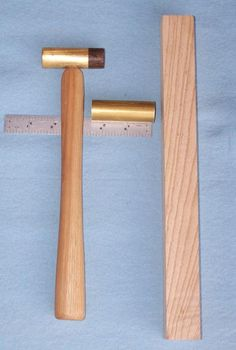 Tutorial on making two kinds of small brass hammers
