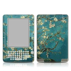 Van Gogh - Blossoming Almond Tree Design Protective Decal Skin Sticker for Amazon Kindle 2 E-Book Reader (2nd Gen) by MyGift. $14.99. This Kindle 2 skin decal is compatible with Kindle 2 (2nd Generation) ONLY. NOT for Kindle 3 (Lastest Generation).This scratch resistant skin sticker helps to protect your Amazon Kindle 2 E-Book Reader while making an impression. Self-adhesive plastic-coated skins cover the front and back of the Kindle 2 and are custom cut to perfectly fit the Ama...