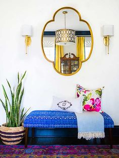 <p>Mirrors are perfect for reflecting the beauty of a room while adding dimension, light, and style to any decor. Here are some beautiful examples of how a mirror can take a room to the next level.</p>