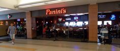 Panini's Bar & Grill in Concourse C  http://www.clevelandairport.com/