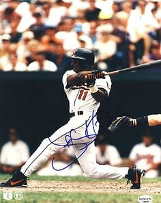"Jeffrey Hammonds Baltimore Orioles Autographed 8x10 Photo 1993-2005 Rare SL SOA . $15.00. Baltimore Orioles OFJeffrey HammondsHand Signed 8x10"" PhotoJeff Played For:Baltimore Orioles (1993-1998)Cincinnati Reds (1998-1999)Colorado Rockies (2000)Milwaukee Brewers (2001-2003)San Francisco Giants (2003-2004)Washington Nationals (2005)WONDERFUL AUTHENTIC BASEBALL COLLECTIBLE!!AUTOGRAPH GUARANTEED AUTHENTIC BY SPORTS LOT, INC. WITH NUMBERED SPORTS LOT, INC. STICKER ON..."