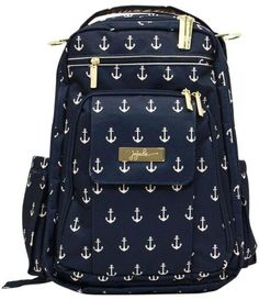 Ju-Ju-Be Legacy Be Right Back Backpack Diaper Bag - The Admiral