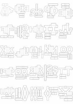 Sugestões para Fazer Letras 3D em EVA Passo a Passo