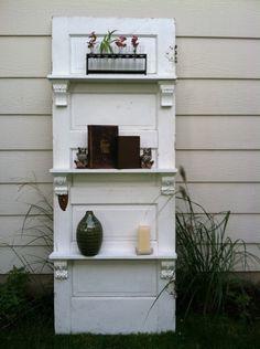 door and shelves