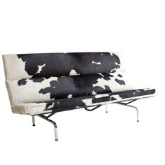 Ray and Charles Eames Compact Sofa for Herman Miller
