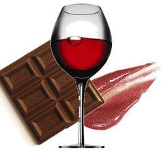 Wine and chocolate