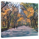 Found it at Wayfair - Art Wall ''Central Park'' by George Zucconi Painting Print on Canvas