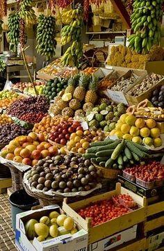 Market, Madeira, Portugal